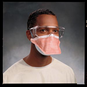 HALYARD N95 RESPIRATOR FACE MASKS : 46727 BX $31.00 Stocked