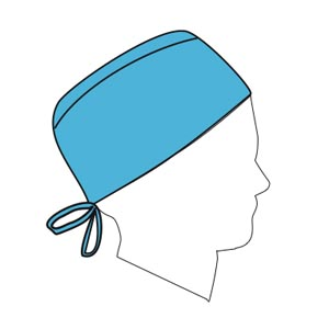 HALYARD PROTECTIVE SURGICAL CAP : 69520 CS                 $51.29 Stocked