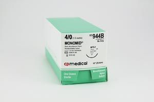 CP MEDICAL MONOMID® NON-ABSORBABLE SUTURE : 944B BX