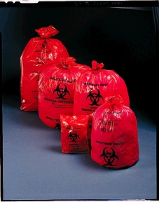 MEDEGEN SAF-T-SEAL WASTE INFECTIOUS BAGS : 44-00 CS                       $62.17 Stocked