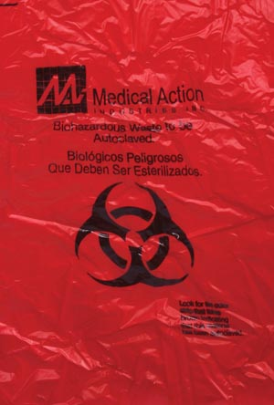 MEDEGEN SAF-T-SURE AUTOCLAVABLE DECONTAMINATION BAGS : 8-908 CS $43.77 Stocked