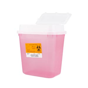 MEDEGEN STACKABLE SHARPS-CONTAINER SYSTEM : 8707T EA $5.57 Stocked
