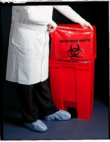 MEDEGEN SURE-SEAL™ INFECTIOUS WASTE BAGS : 47-73 CS                       $50.82 Stocked