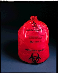 MEDEGEN ULTRA-TUFF™ INFECTIOUS WASTE BAGS : 45-54 CS                       $43.43 Stocked