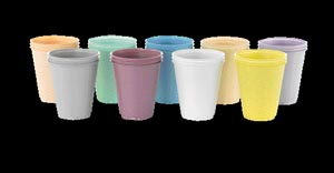 MEDICOM PLASTIC CUPS : 105 SLV                      $3.12 Stocked