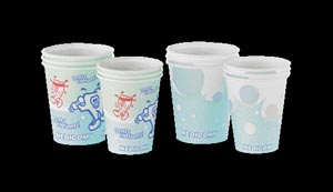 MEDICOM POLY COATED PAPER CUPS : 114-CH SLV $4.30 Stocked