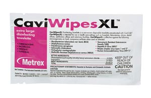 METREX CAVIWIPES™ DISINFECTING TOWELETTES : 13-1155 BX   $30.55 Stocked