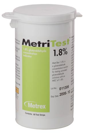 METREX METRITEST™ GLUTARALDEHYDE : 10-304 EA $73.18 Stocked