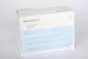 MOLNLYCKE BARRIER FACE MASK WITH TIES : 42301 BX               $12.64 Stocked