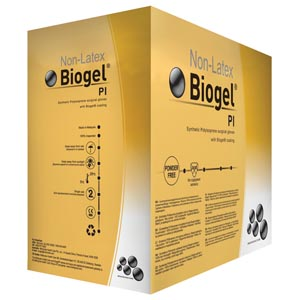 MOLNLYCKE BIOGEL PI GLOVES : 40870 CS $617.50 Stocked