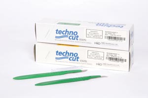 MYCO TECHNOCUT DISPOSABLE SCALPELS : 6008T-12 BX  $5.78 Stocked