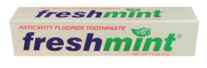NEW WORLD IMPORTS FRESHMINT FLUORIDE TOOTHPASTE : TP15 EA                       $0.25 Stocked
