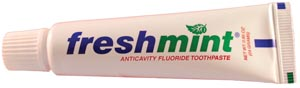 NEW WORLD IMPORTS FRESHMINT FLUORIDE TOOTHPASTE : TP85 CS $103.35 Stocked