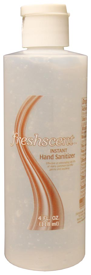 NEW WORLD IMPORTS FRESHSCENT™ HAND SANITIZER : HS4 CS                       $35.10 Stocked
