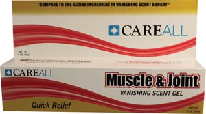 NEW WORLD IMPORTS CAREALL MUSCLE & JOINT GEL : MJG3 EA $1.31 Stocked