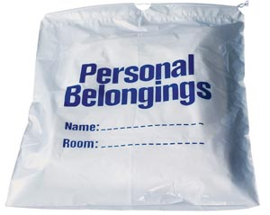 NEW WORLD IMPORTS PERSONAL BELONGINGS BAG : DSPB2 BG $3.09 Stocked