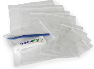 NEW WORLD IMPORTS RECLOSABLE BAGS : ZIP23 CS                       $5.33 Stocked