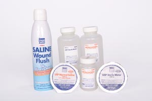 NURSE ASSIST SALINE & WATER : 6250 CS   $29.95 Stocked
