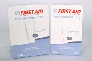NUTRAMAX NON-ADHERENT STERILE PADS : 7565033 BX                      $6.45 Stocked