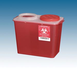 PLASTI BIG MOUTH SHARPS CONTAINERS : 146014 CS                       $81.12 Stocked