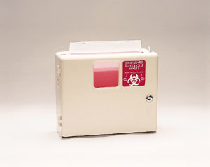 PLASTI WALL MOUNTED SHARPS DISPOSAL SYSTEM : 143002 EA     $29.45 Stocked