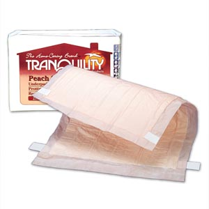 PRINCIPLE BUSINESS TRANQUILITY PEACH SHEET UNDERPAD : 2074 CS $76.86 Stocked