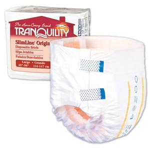PRINCIPLE BUSINESS TRANQUILITY SLIMLINE DISPOSABLE BRIEFS : 2132 PK                       $11.23 Stocked