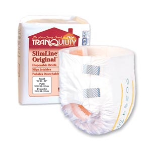 PRINCIPLE BUSINESS TRANQUILITY SLIMLINE DISPOSABLE BRIEFS : 2120 PK $6.39 Stocked