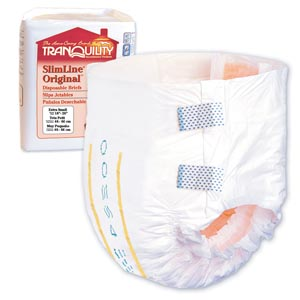PRINCIPLE BUSINESS TRANQUILITY SLIMLINE DISPOSABLE BRIEFS : 2166 CS     $57.98 Stocked