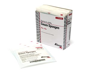PRO ADVANTAGE GAUZE SPONGES - STERILE : P157024 TR $1.88 Stocked