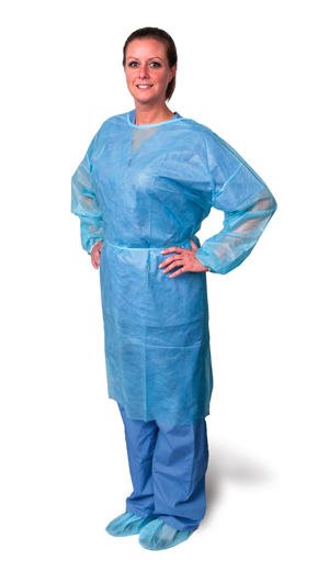 PRO ADVANTAGE ISOLATION GOWNS : P704030 BG $5.30 Stocked