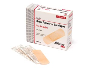 PRO ADVANTAGE SHEER ADHESIVE BANDAGE : P150135 BX              $1.72 Stocked