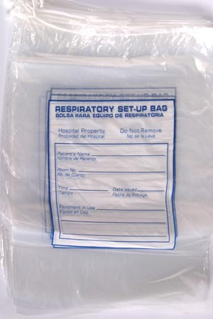 RD PLASTICS RESPIRATORY CARE SET-UP BAGS : G113 CS                $106.61 Stocked