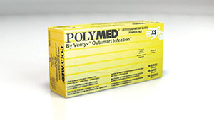 VENTYV POLYMED LATEX EXAM POWDER-FREE GLOVES : PM101 CS $53.17 Stocked