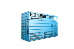 SEMPERMED POLYMED EXAM GLOVE : PM104 BX                       $5.75 Stocked