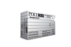 VENTYV POLYMED LATEX EXAM POWDER-FREE GLOVES : PM105 CS $53.17 Stocked