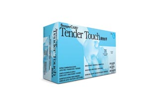 SEMPERMED SEMPERCARE TENDER TOUCH™ NITRILE GLOVE : TTNF205 CS                       $106.34 Stocked