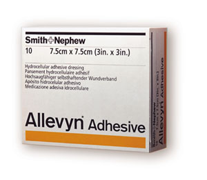 SMITH & NEPHEW ALLEVYN™ ADHESIVE DRESSINGS : 66020043 PK                       $66.86 Stocked