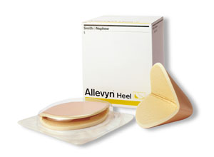 SMITH & NEPHEW ALLEVYN™ HEEL DRESSING : 66007630 CS                 $529.85 Stocked