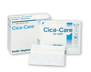 SMITH & NEPHEW CICA-CARE™ ADHESIVE SILICONE GEL SHEETS : 66250707 PKG $629.88 Stocked