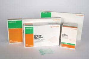 SMITH & NEPHEW OPSITE™ FLEXIGRID™ TRANSPARENT ADHESIVE FILM DRESSINGS : 66024630 PKG $86.05 Stocked