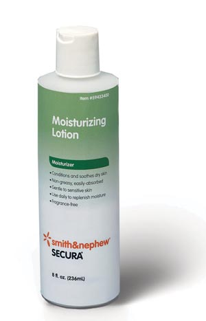 SMITH & NEPHEW SECURA™ MOISTURIZING LOTION : 59433400 CS                 $77.06 Stocked