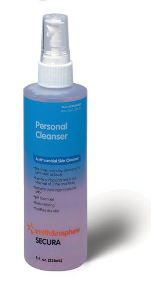 SMITH & NEPHEW SECURA™ PERSONAL CLEANSER : 59430400 EA        $3.19 Stocked