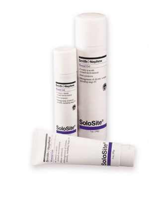 SMITH & NEPHEW SOLOSITE WOUND GEL : 449600 CS   $178.62 Stocked