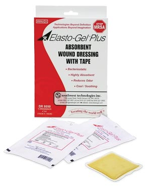 SOUTHWEST ELASTO-GEL™ PLUS WOUND DRESSING : DR8050 BX