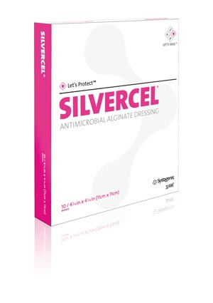 ACELITY SILVERCEL NON-ADHERENT ANTIMICROBIAL ALGINATE DRESSING : 800202 CS $168.29 Stocked