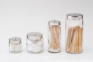 TECH-MED DRESSING JARS : 4013 CS                 $42.74 Stocked