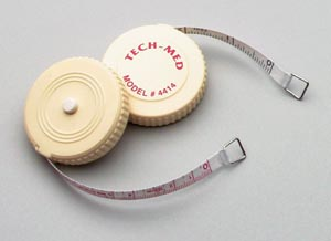 TECH-MED TAPE MEASURE : 4414 EA                  $1.60 Stocked
