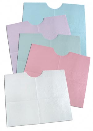 TIDI 3-PLY TISSUE/POLY CONTOUR BIB : 917902 CS                    $38.61 Stocked