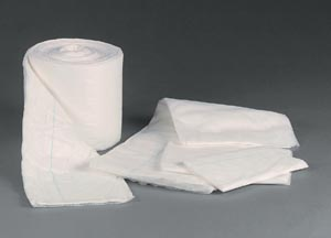 TIDI NON-ABSORBENT ABDOMINAL PADS : 979560 CS $315.72 Stocked
